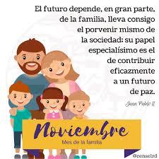 Noviembre, mes de la familia. El futuro... - Centro de Servicios Legales  para la Mujer, Inc. - CENSEL | Facebook